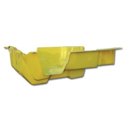 Bañera Amarilla 4 plazas