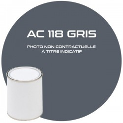 PINTURA AC 118 GRIS OSCURO...